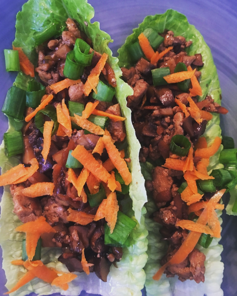 Asian Tofu Lettuce Wraps