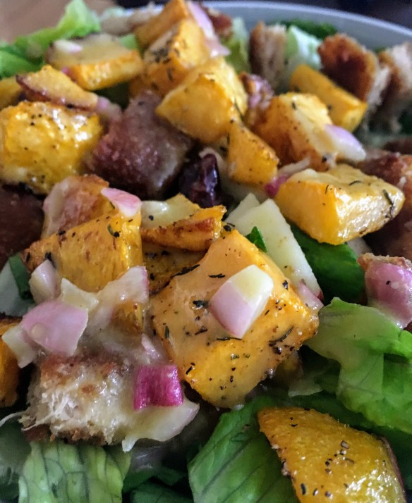 Autumn Salad with Butternut Squash