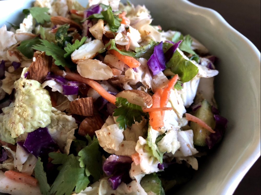 Asian Almond Salad