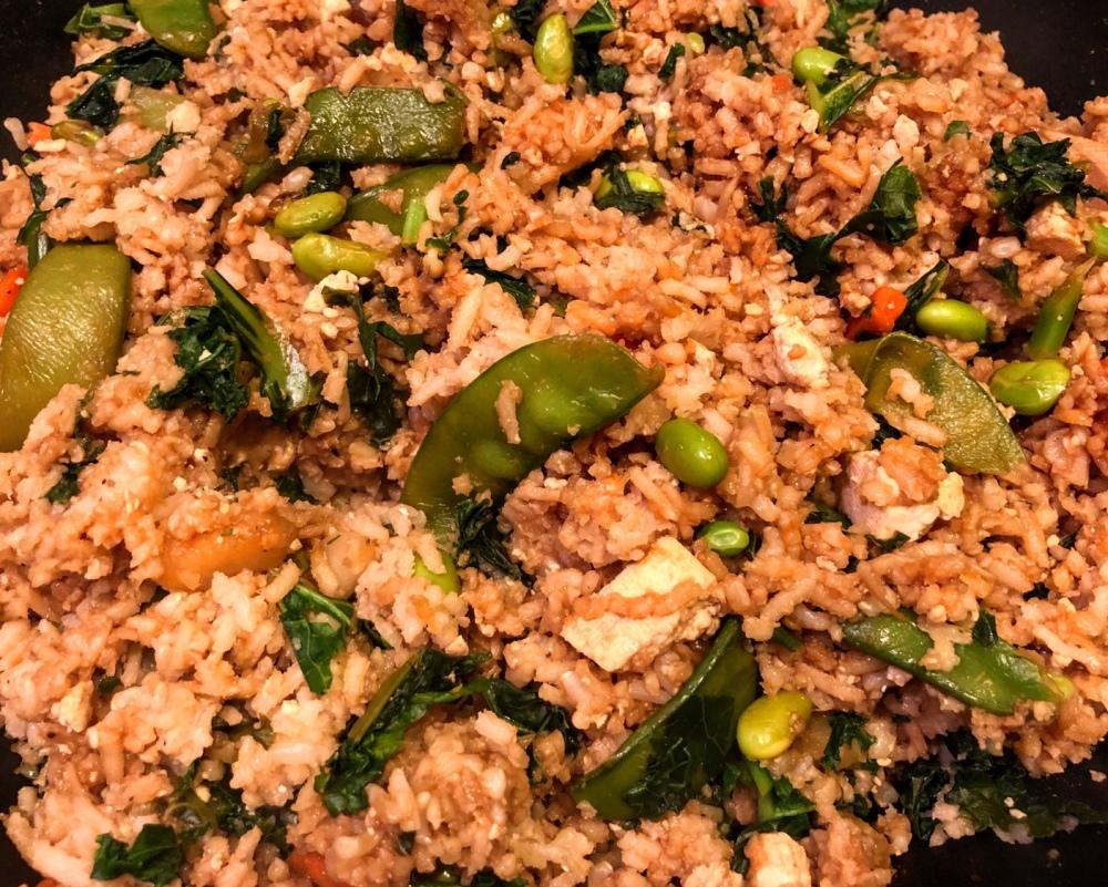 Veggie and Tofu Fried Rice