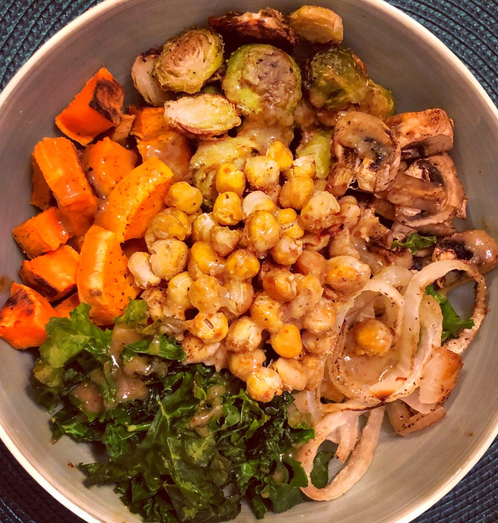 Maple Dijon Buddha Bowl
