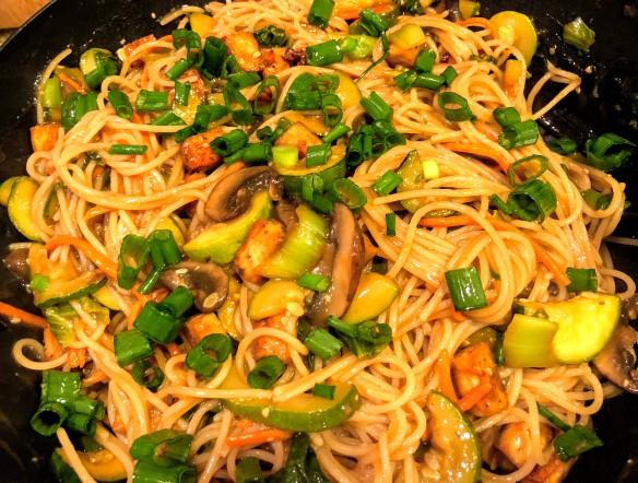 Teriyaki Tofu Noodle Bowl