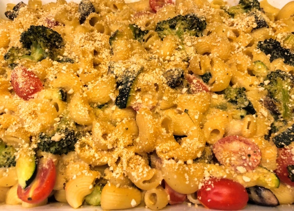Roasted Veggie Mac 'n Cheeze