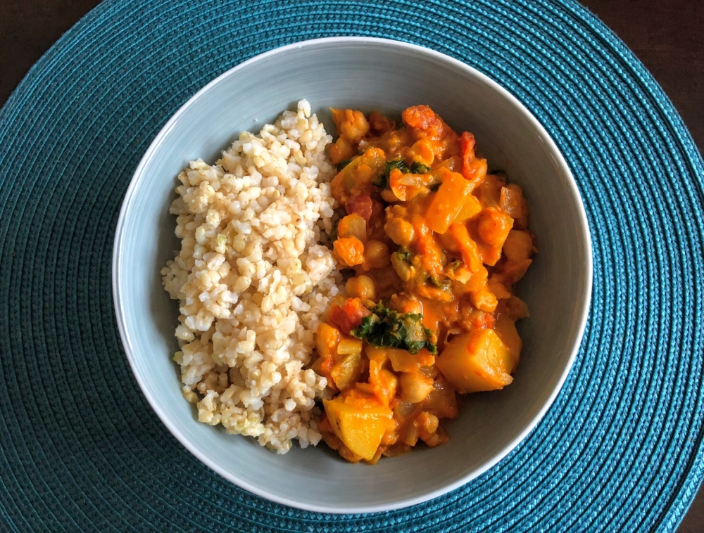 Chana Aloo Curry