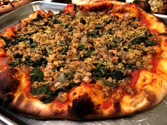 Grilled Vegan Pizza