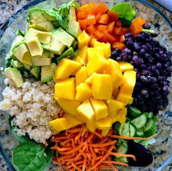 Fiesta Mango Black Bean Salad