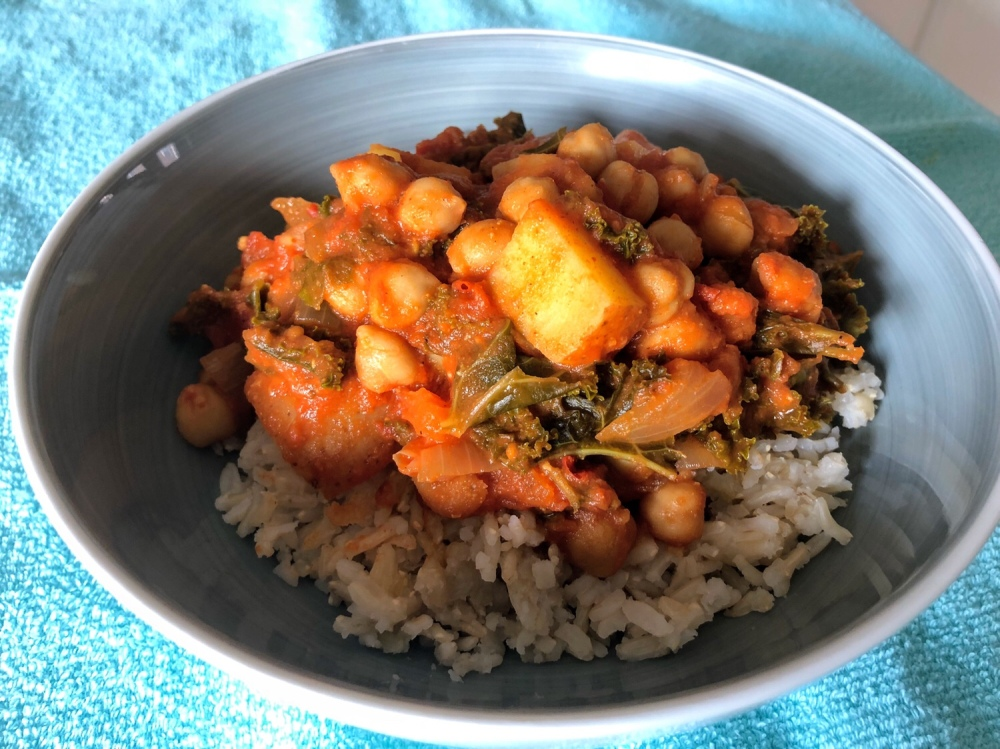 No Butter No Chicken Chickpea Curry