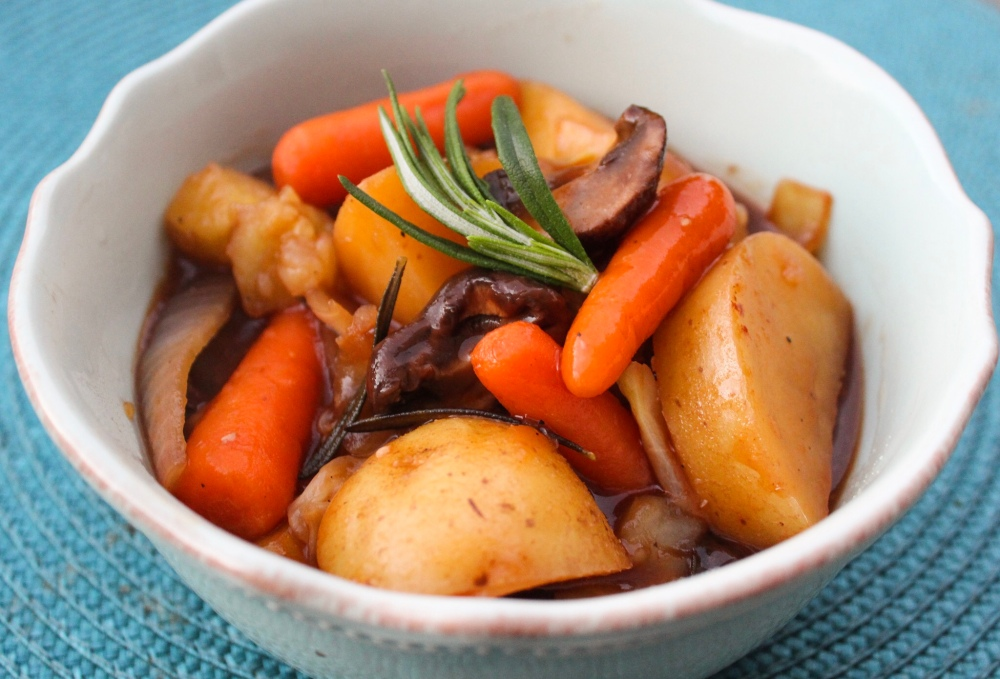 Vegan Vegetable Pot Roast