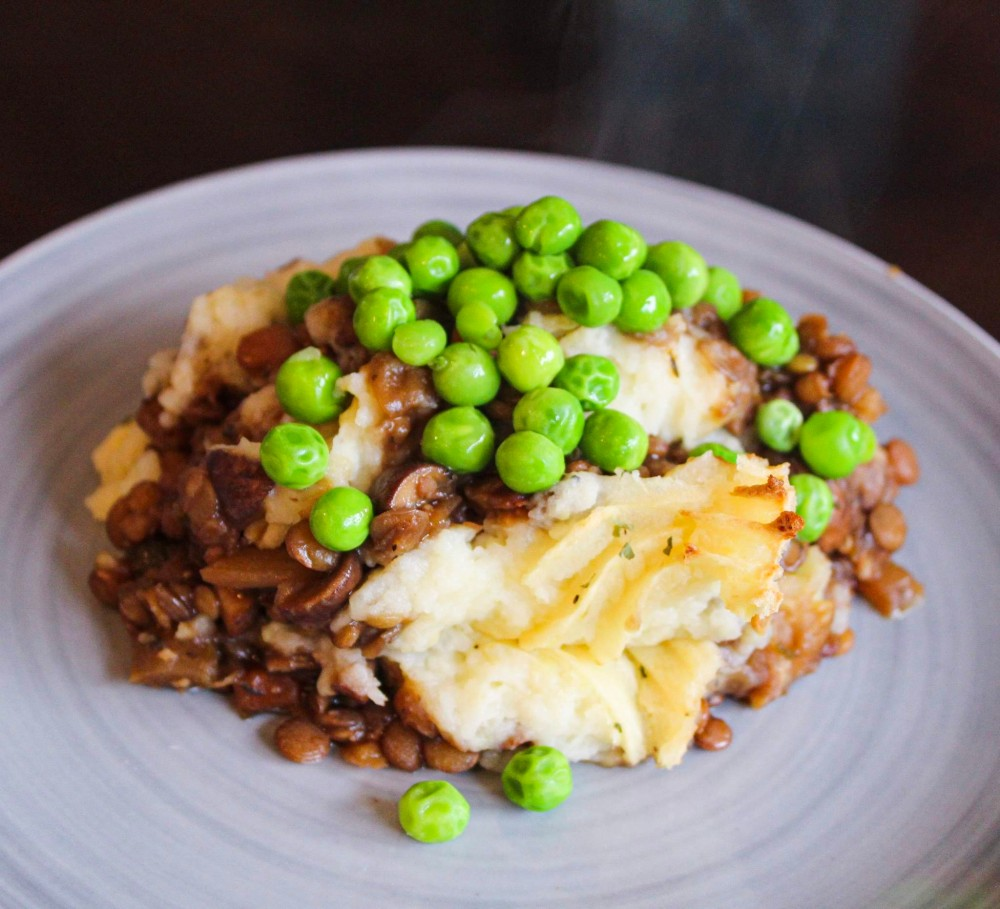 Improved Lentil Shepherd's Pie